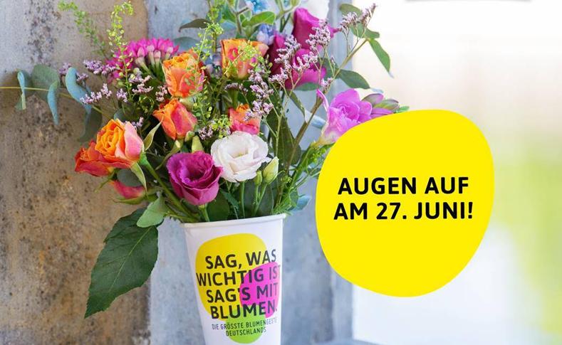 Deutschlands größte Blumengeste 1