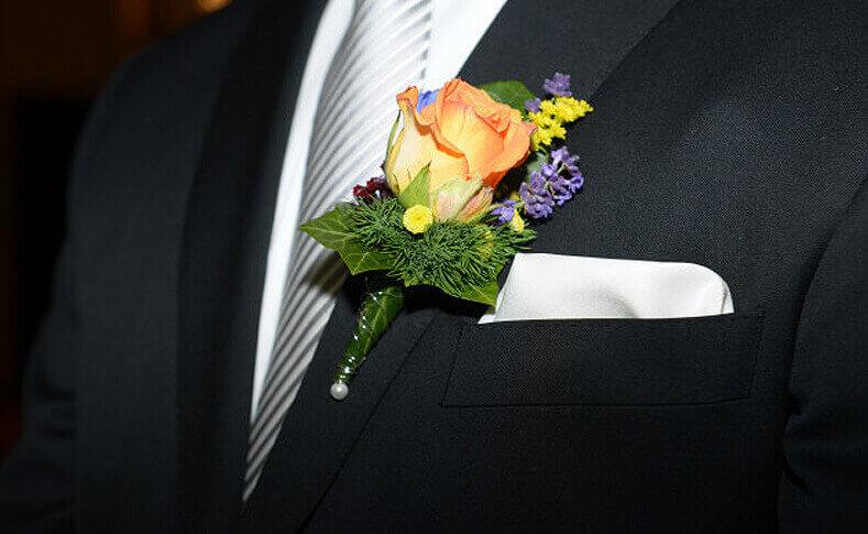 Hochzeit Bente und Florian Anstecker
