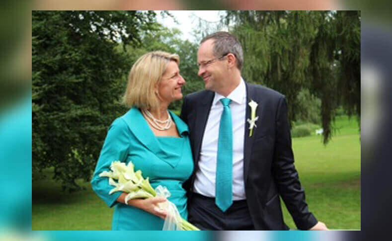 Hochzeit Birga und Christian Braut