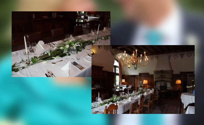 Hochzeit Birga und Christian Tischdekoration
