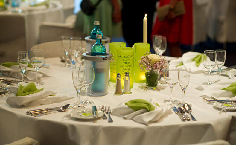 Hochzeit Brautstrauss Tischdekoration