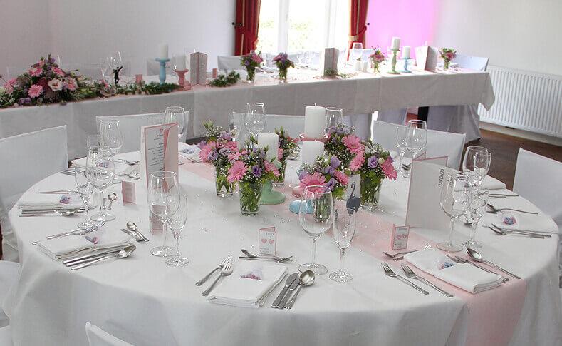 Hochzeit Britt und Florian Tisch