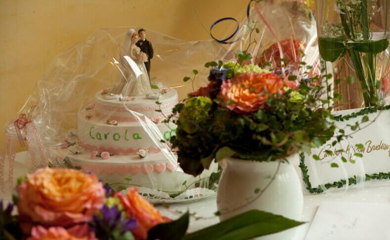 Hochzeit Carola und Martin Dekoration