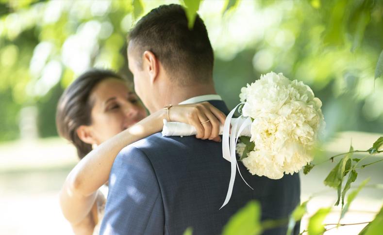 Hochzeit Ehepaar P.-G. Brautstrauß