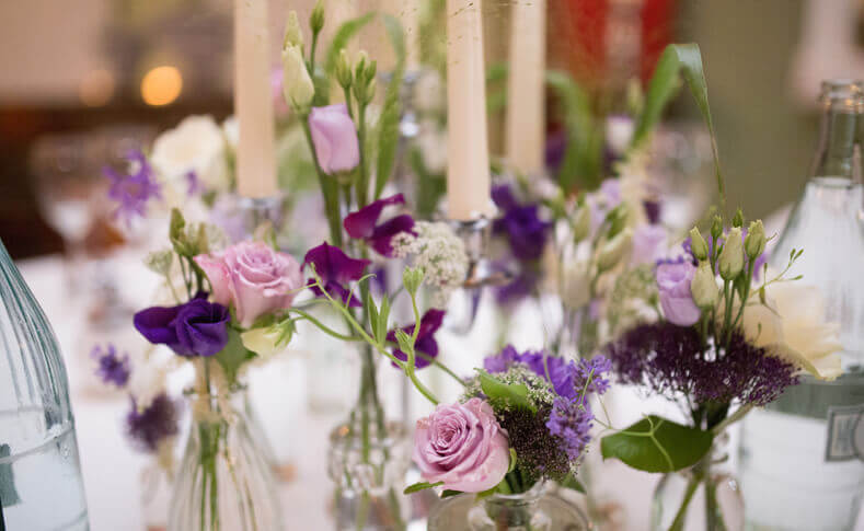 Hochzeit Ehepaar Pfeifer Tischdekoration