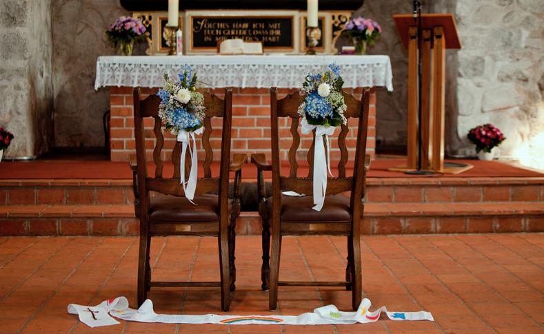 Hochzeit Familie k Kirche