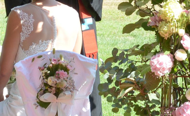 Hochzeit Familie Röhrig Brautstrauß
