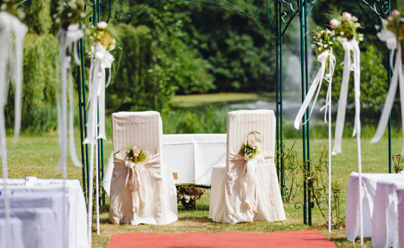 Hochzeit Friederike und Andre Hochzeitsstühle
