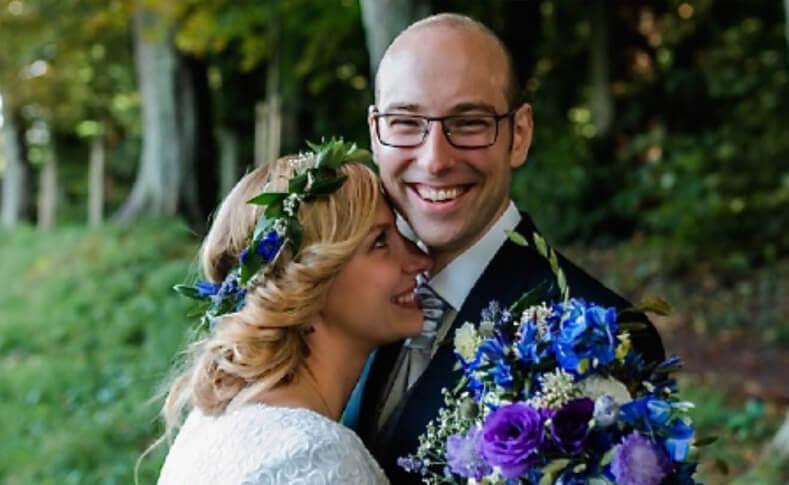 Hochzeit Gareth und Romy Brautstrauss