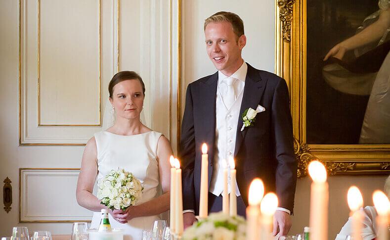 Hochzeit Jessica und Thomas Brautpaar