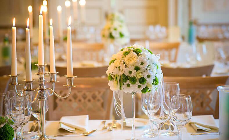 Hochzeit Jessica und Thomas Tischdekoration