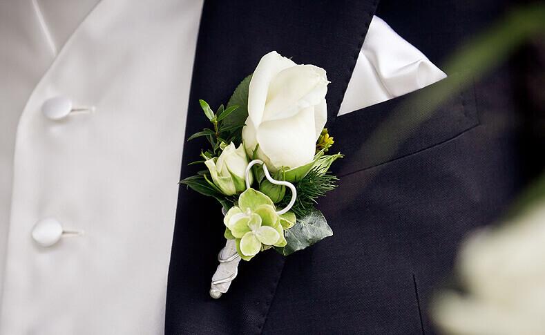 Hochzeit Jessica und Thomas Anstecker