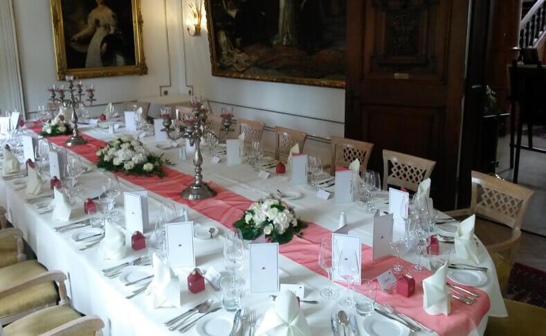 Hochzeit Kerstin und Peter Tischdekoration