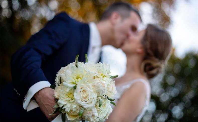 Hochzeit Martina und Bastian Braut und Bräutigam