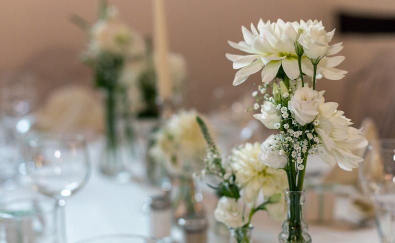 Hochzeit Martina und Bastian Tischdekoration