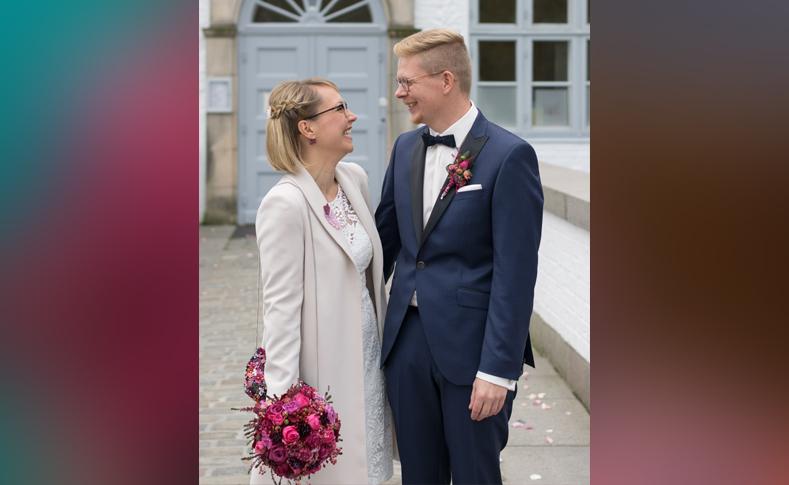 Hochzeit Ulrike und Tim Braut und Bräutigam