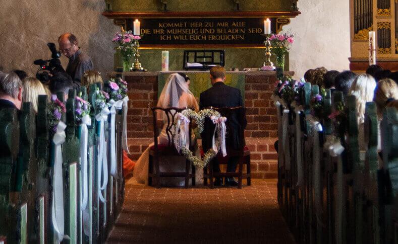 Hochzeit - Kirche Vorschlag 1