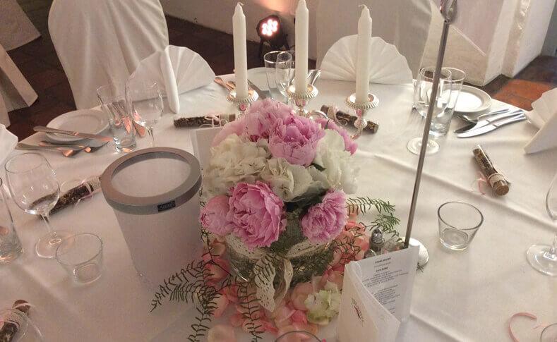 Tischdekorationen ... von Blumen Jentsch Beispiel 10