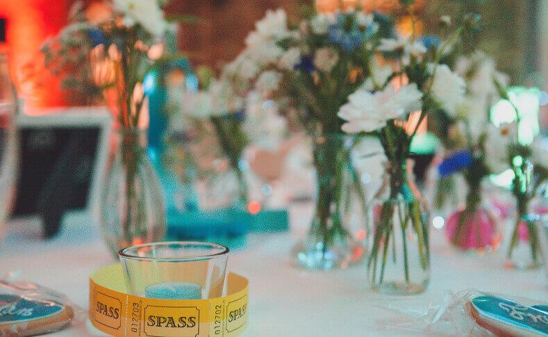 Tischdekorationen ... von Blumen Jentsch Beispiel 7