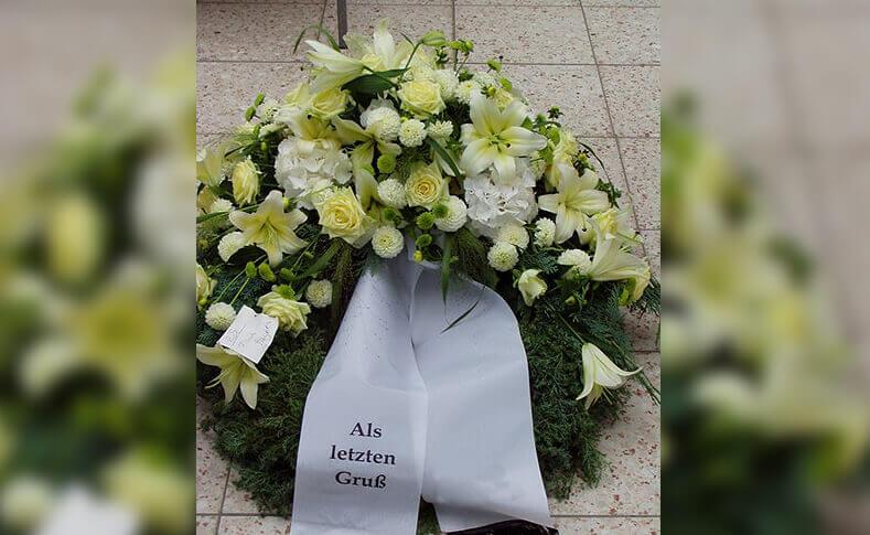 Trauerfloristik ... von Blumen Jentsch Beispiel 12