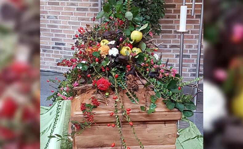 Trauerfloristik ... von Blumen Jentsch Beispiel 13