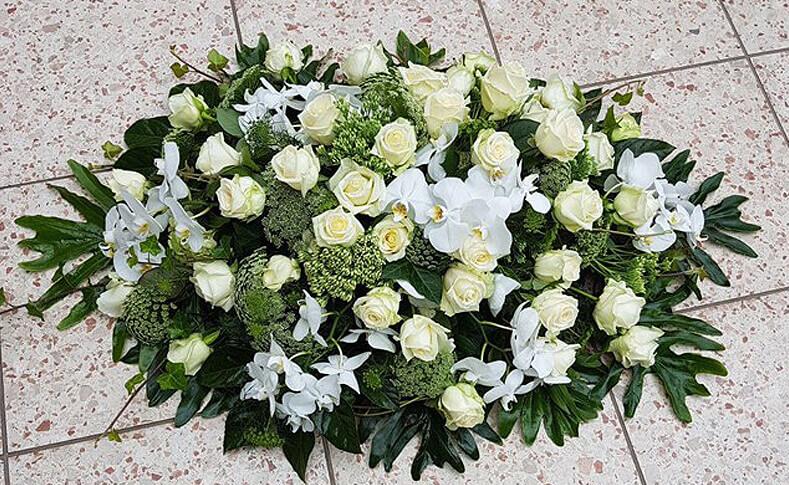 Trauerfloristik ... von Blumen Jentsch Beispiel 4
