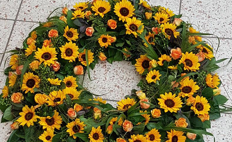 Trauerfloristik ... von Blumen Jentsch Beispiel 6