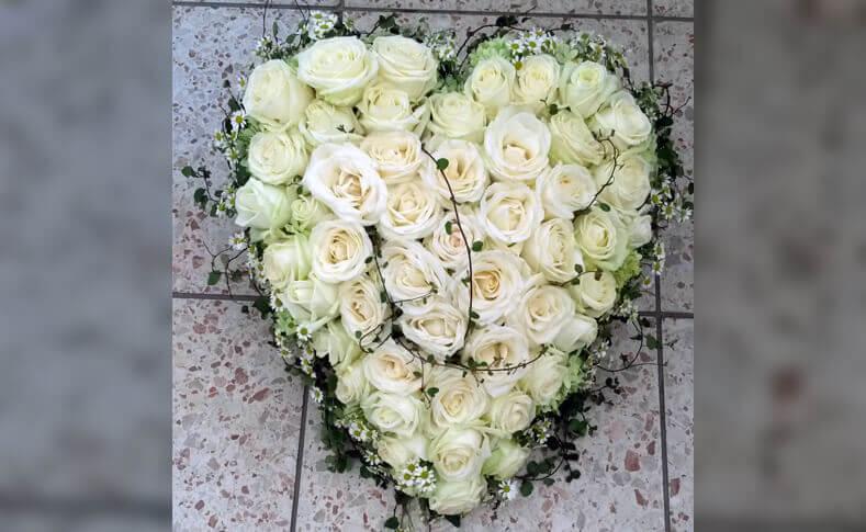 Trauerfloristik ... von Blumen Jentsch Beispiel 7