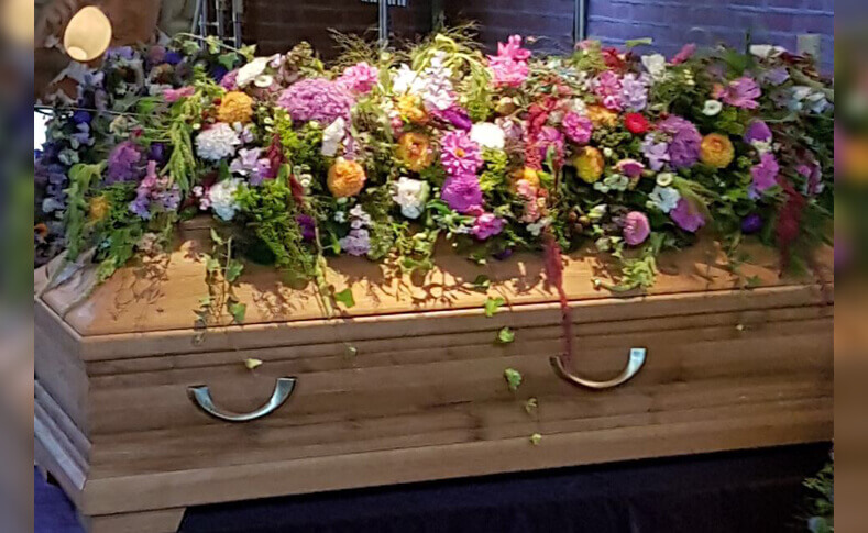 Trauerfloristik ... von Blumen Jentsch Beispiel 9