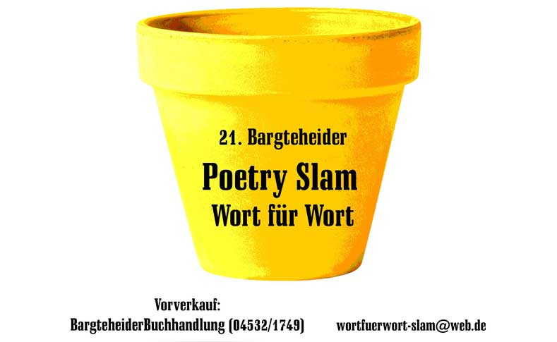 Foto und Text Poetry Slam 1