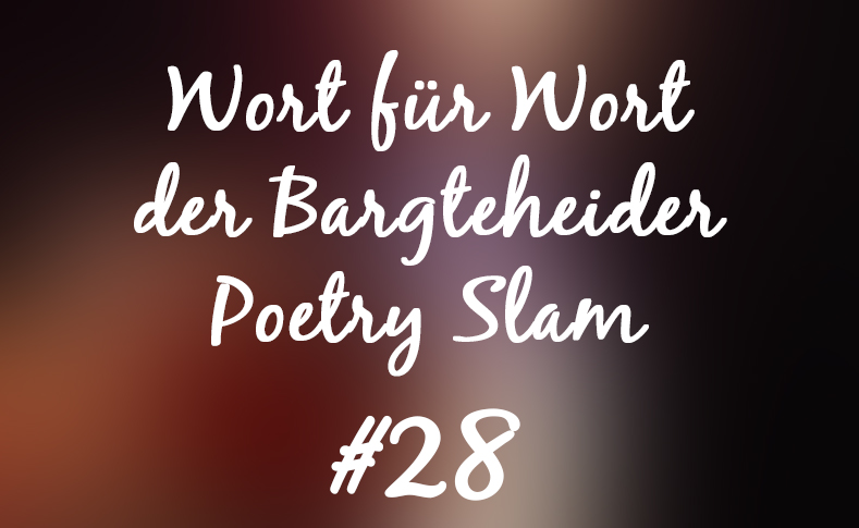 Foto und Text Poetry Slam